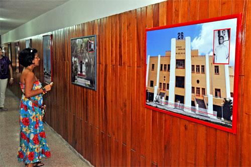 Exposición fotográfica en salones de la Plaza de la Revolución Mariana Grajales Coello, en Guantánamo